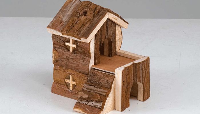 Оригинальные домики для хомяков своими руками